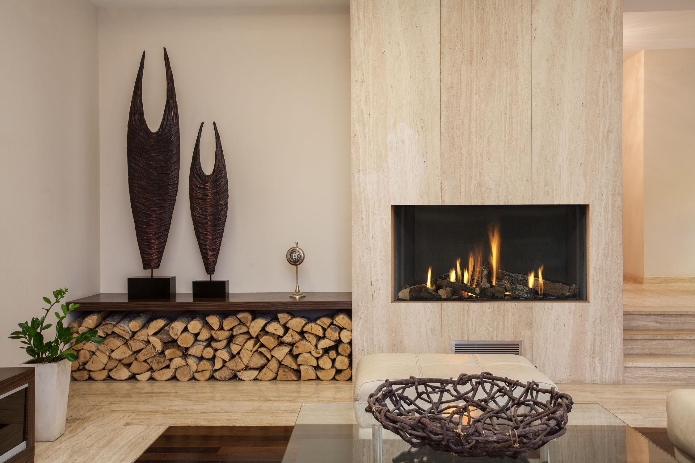 Modern Scandinavian Fireplace: Recuperadores De Calor, Lareiras, Aquecimento